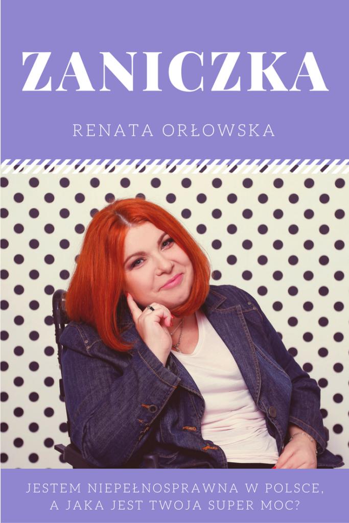 Jestem niepełnosprawna w Polsce, a jaka jest Twoja super moc?