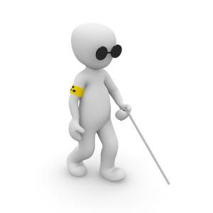 Zobacz niewidomego - 8 porad jak pomóc żeby nie zaszkodzić
