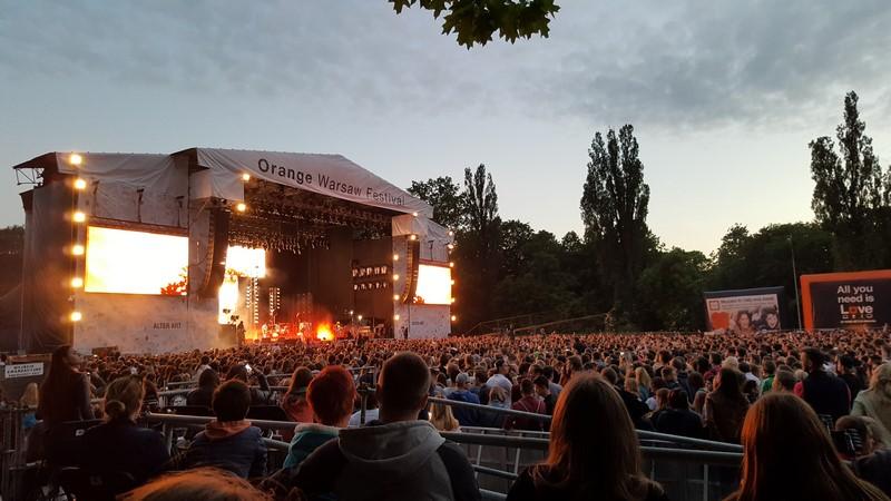 Orange Warsaw Festiwal 2017 - bez barier.