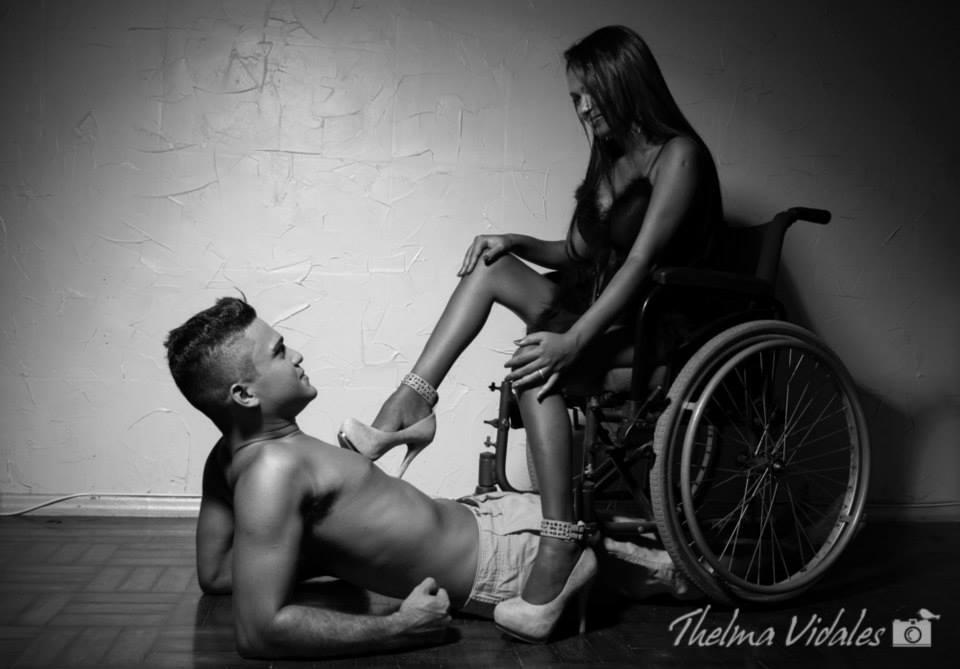 Przygodny seks z niepełnosprawną.