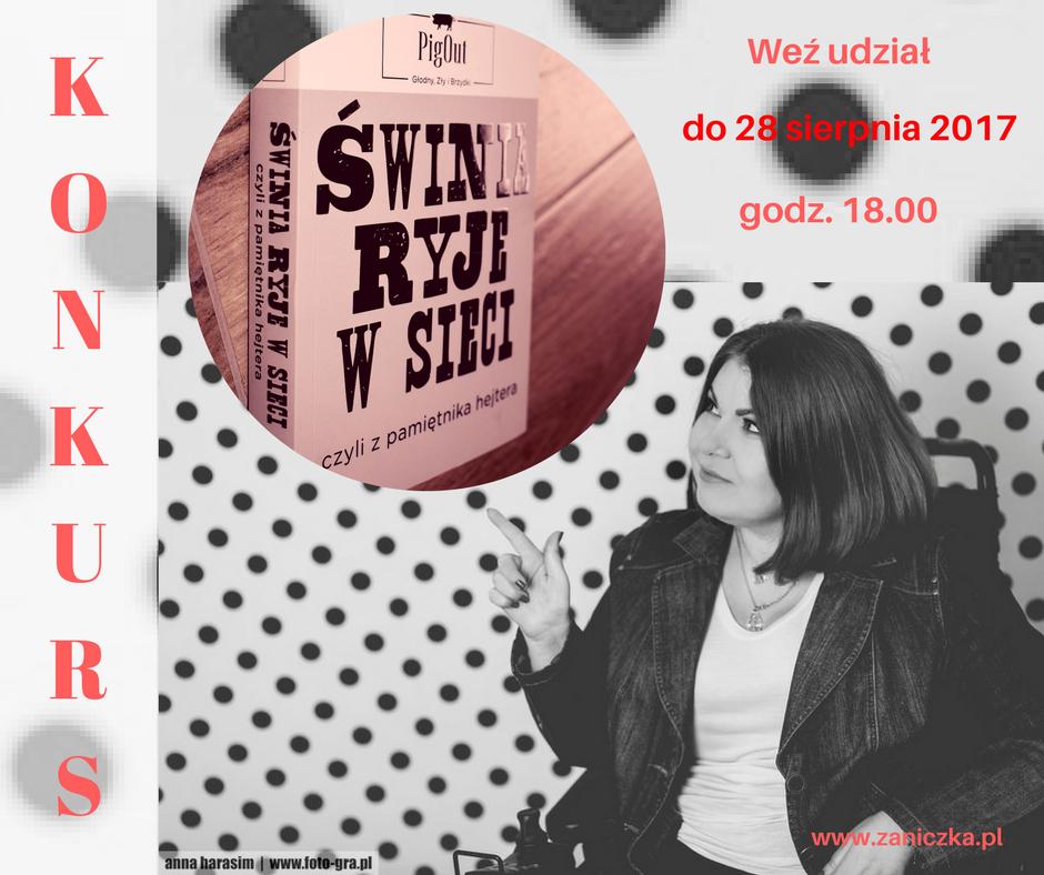 """#konkurs """"Świnia ryje w sieci"""""""