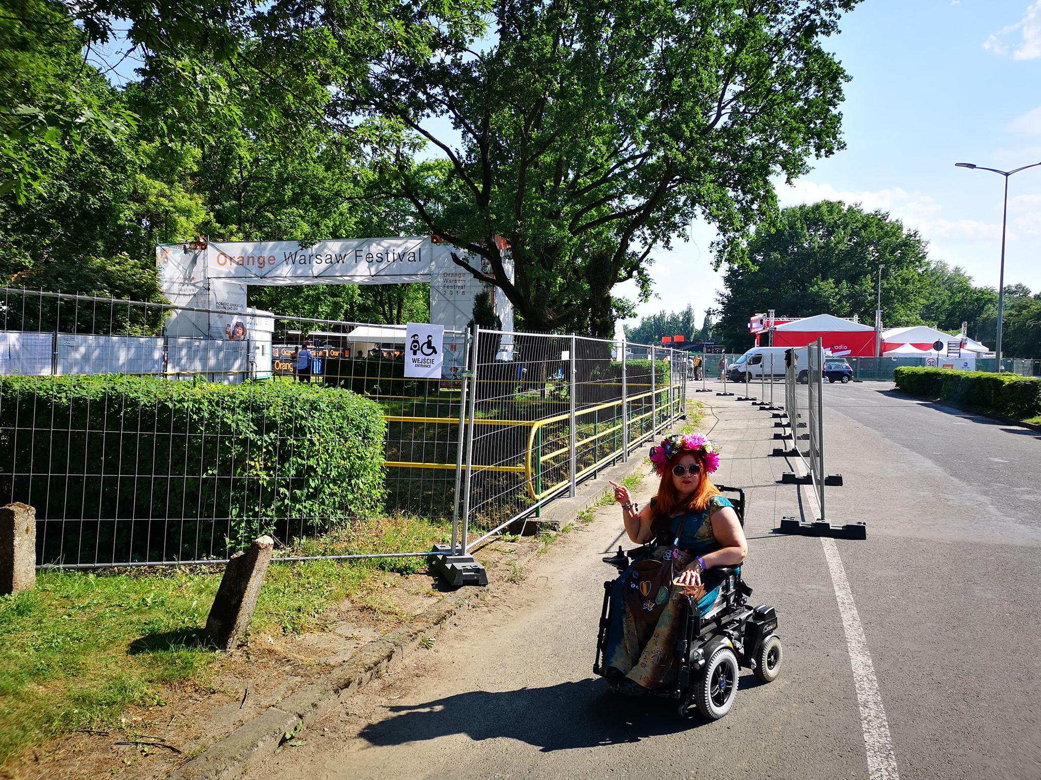 Orange Warsaw Festiwal - jedyny tak przystosowany.
