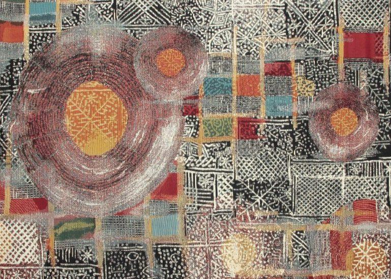 Wygodny i modny dywan tkany na płasko
